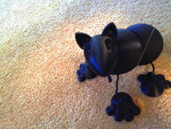 Animal marionette designed by Owen M. Collins
